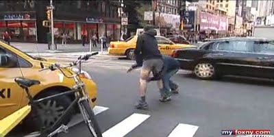 Cab Vs. Pedicab_ Road Rage Caught On Camera (VIDEO)