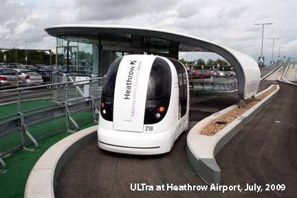 personal rapid transit - car future?