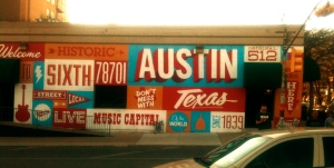 Also the actual capital of Texas.