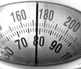 December 31 weigh-in. This is the calibration weight: 78.5kg