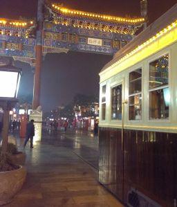 Beijing Qianmen tram