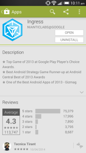 Ingress by Google