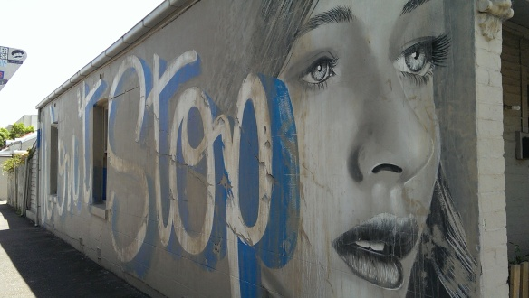 Rone and wonderfresh street art - Won't Stop