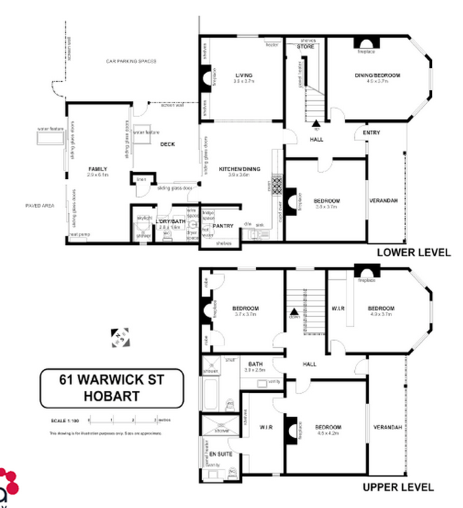 Hobart House plans