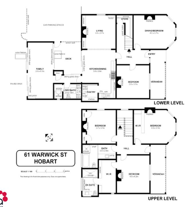 Hobart House plans