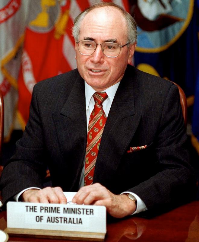 John Howard, Prime Minister 1996-2007