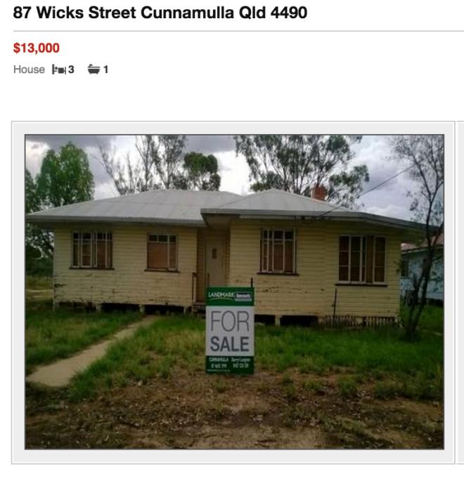 Cunnamulla house