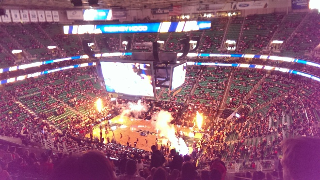 Pre-game pyrotechnics