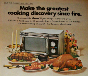 The microwave promised to do it all too